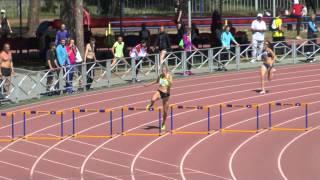 УФО лето 2014г 400м с барьерами Татьяна Вешкурова