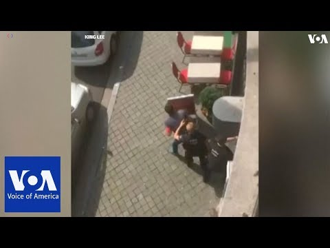 """""""Terrorist"""" attacker kills three in Liege, gunman dead"""