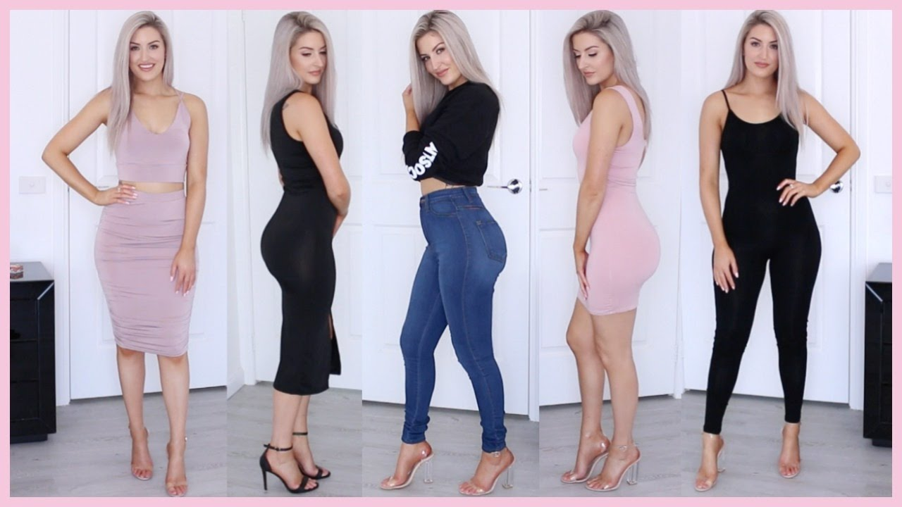 Sexy haul outfits try ons 36 - 5 3