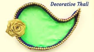Ganesha Chaturthi Thali Decoration | Decorative Tray For Ganpati Bappa | Wedding Decoration Idea