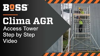 Setting up a BoSS Clima AGR Mobile Access Tower