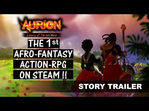 Aurion: Legacy of the Kori-Odan - The first Afro-Fantasy action-RPG