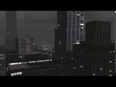 City New York Building video background