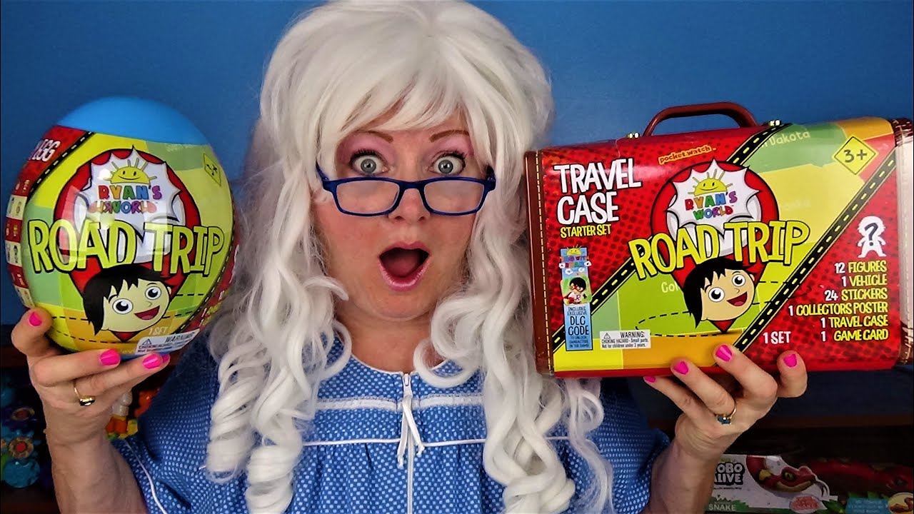 Ryan's Road Trip Unboxing Rare State Shout Out Granny McDonald