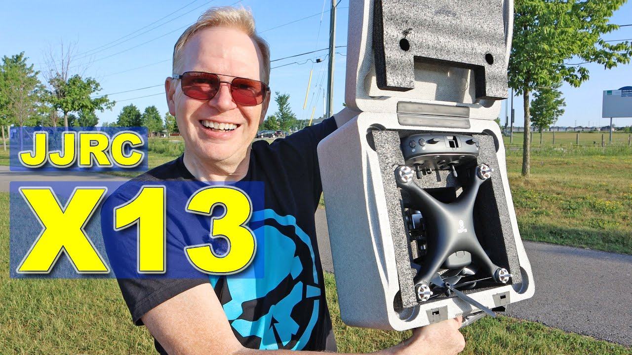 JJRC X13 - The $100 Phantom Drone - Is it any good?  Review