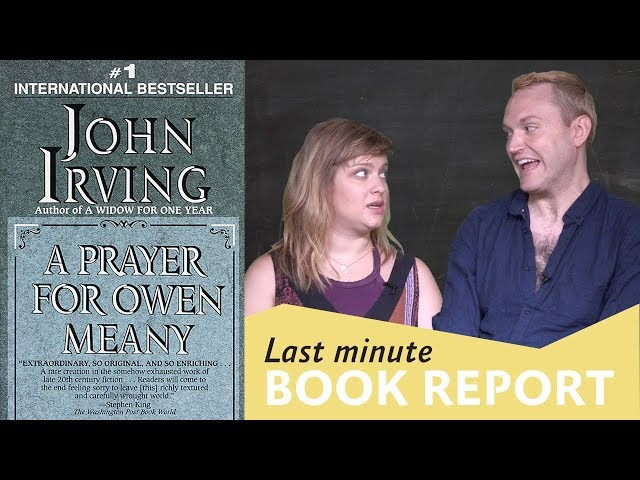 a prayer for owen meaney last minute book report stacy alesi s