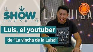 """""""La vincha de la Luisa"""" en El show del Lagarto"""