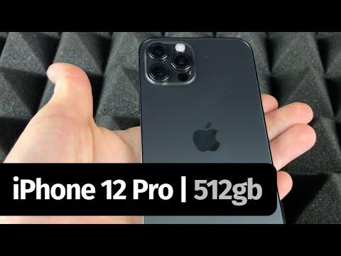 iPhone 12 Pro Max 512GB - Graphite Unboxing
