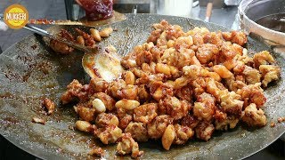 명동 │ 닭강정 │ Crispy Crunchy Korean Fried Chicken │ 한국 길거리 음식 │ Korean Street Food