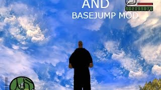 GTA SA Parachute skin and base jump mod+link  download