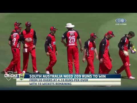 Highlights: NSW Blues vs Southern Redbacks