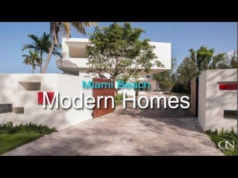 Miami Beach Modern Homes for sale | Contemporary Homes ...