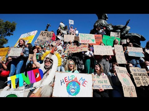 Youth led climate change movement puts planet in the political spotlight