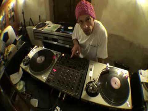 DJ Tutorial on cutting  music known as Breaks, Breakbeat