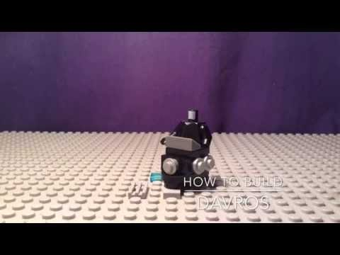 Lego Doctor who how to build 2:Davros