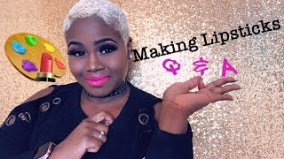 Making lipstick Q&A | How to start your own cosmetic line