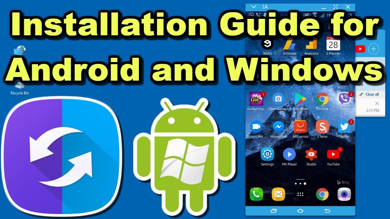 SideSync 2018 How to Install and Configure on Android and Windows