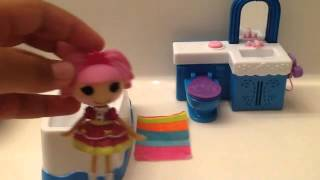 Lalaloopsy Jewel gets Ready for a Party