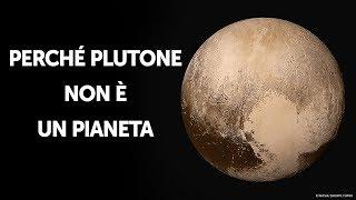 Ecco Perché Plutone Non È Più Un Pianeta