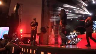 Wizkid & R2Bees Performing