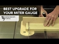 Add a Fence to Your Miter Gauge