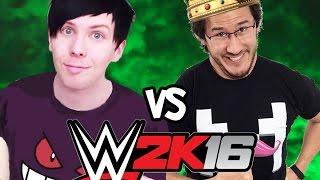 Amazing Phil v Markiplier WWE 2K16