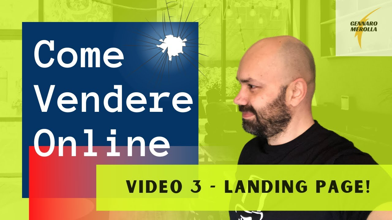 Download COME VENDERE ONLINE - 3) Landing Page!