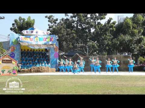 งานแข่งขันกีฬาสีสัมพันธ์ ครั้งที่ 7 ศรีวัฒนาบริหารธุรกิจ สีฟ้า-บ่าย (อันดับ 2 ผู้นำเชียร์)