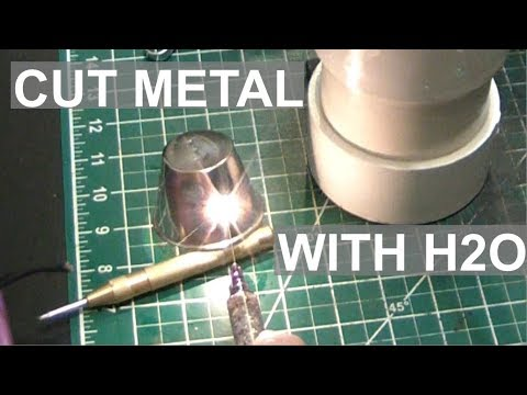 Cutting Metal With Water! HHO Torch Success - ElementalMaker