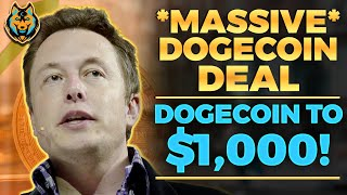 MR BEAST Is About To Make Big DOGECOIN MOVE! (Dogecoin Price Skyrocket Because Of This)