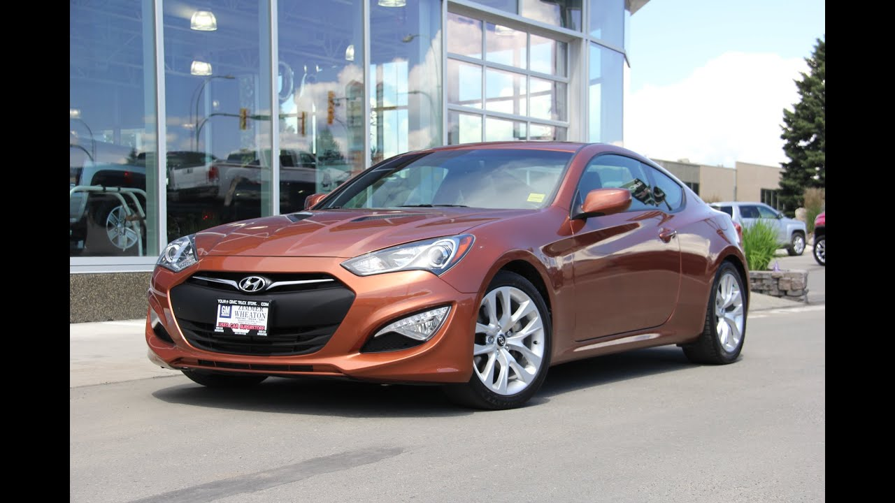 2013 Hyundai Genesis Coupe 2.0T Premium Walk Around Video   YouTube