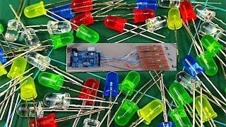 Automatic Power Cut Failure Alert LED Indicator - Life Hacks For Led Light - Amazing School Project
