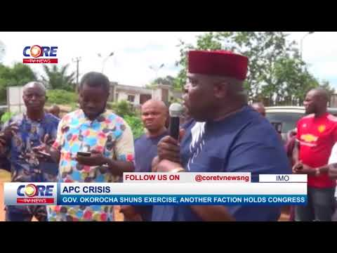 APC CRISIS: GOV. OKOROCHA SHUNS EXERCISE, ANOTHER FACTION HOLDS CONGRESS…watch & share..!