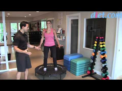 Rebounding: Mini-Trampoline Cardio Workout