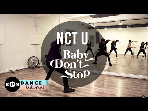"NCT U ""Baby Don't Stop"" Dance Tutorial (Chorus and Breakdown)"
