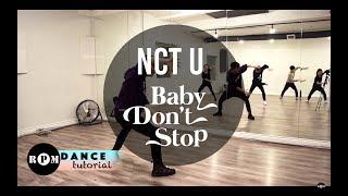"Gambar cover NCT U ""Baby Don't Stop"" Dance Tutorial (Chorus and Breakdown)"