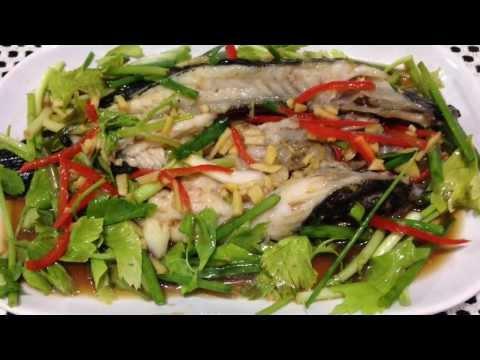 Steamed Gobidae Fish With Soy Sauce Recipes. ปลาบู่นึ่งซีอิ้ว
