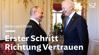 Biden trifft Putin in Genf: Erster Schritt Richtung Vertrauen
