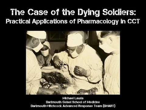 The Case of the Dying Soldiers: Practical Applications of Pharmacology Concepts in Critical Care
