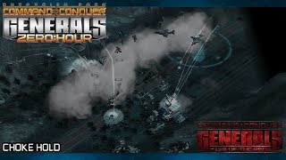 RISE OF THE REDS 1.87  ECA Mission 2, Choke Hold [C&C Generals Zero Hour]