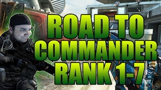 """COD Black Ops 2 - """"OFF TO A GOOD START!"""" - Road to Commander #1 (Rank 1-7)"""