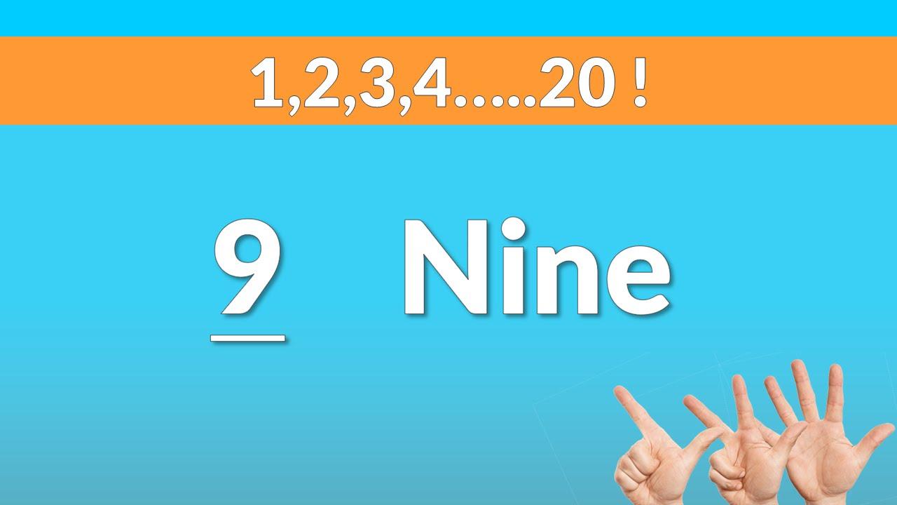 Très Comment apprendre les chiffres en anglais : 1,2,3.20 ! - YouTube UA71