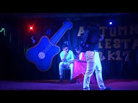 Autumn Fiesta 2k17   Dance Performance by Sajib & Nishu   IUCC   CIU