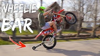 WHEELIE BAR FOR DIRT BIKES!!