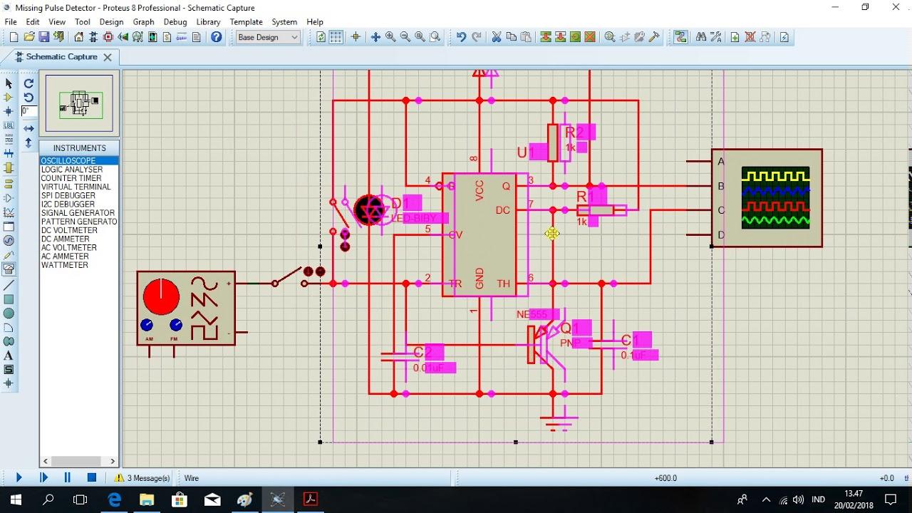Missing Pulse Detector Circuit Great Installation Of Wiring Diagram Radio Frequency Controlcircuit Seekic Youtube Rh Com Using Ne555