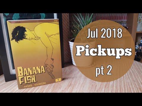 Jul 2018 Manga Pickups Pt 2 || Land Of The Banana Fish