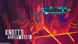 Paranormal Inc maze at Knott's Scary Farm