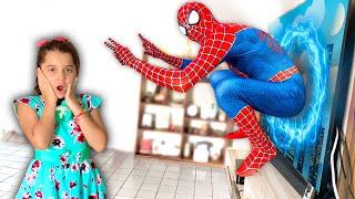 SUPER-HEROI NA VIDA REAL SAIU DA TV ⭐️ Homem-Aranha