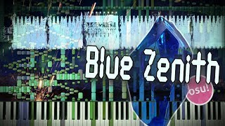 Synthesia: Xi - Blue Zenith (Parousia) | 72,700+ Notes | osu! | Black MIDI