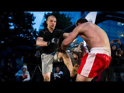 Airborne forces vs MMA Fighter from Russia